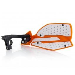 Handguards Acerbis X-Ultimate orange white