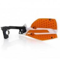 Protège-mains Acerbis X-Ultimate white orange