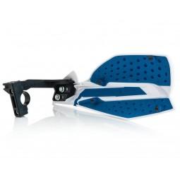 Handguards Acerbis X-Ultimate white blue