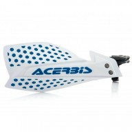 Protège-mains Acerbis X-Ultimate white blue