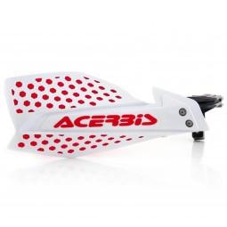 Paramani Acerbis X-Ultimate white red,Adesivi e Plastiche