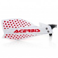 Protège-mains Acerbis X-Ultimate white red