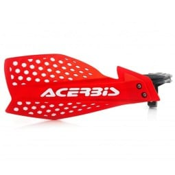 Handguards Acerbis X-Ultimate red white