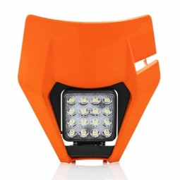Headlight mask Acerbis Ktm orange