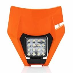 Luz matricula Acerbis Ktm orange