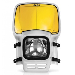 Headlight mask Acerbis Elba Vintage white