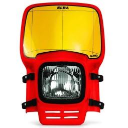 Scheinwerfer Acerbis Elba Vintage red