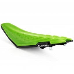Sella moto Acerbis X-Air Seats Kawasaki Kxf green