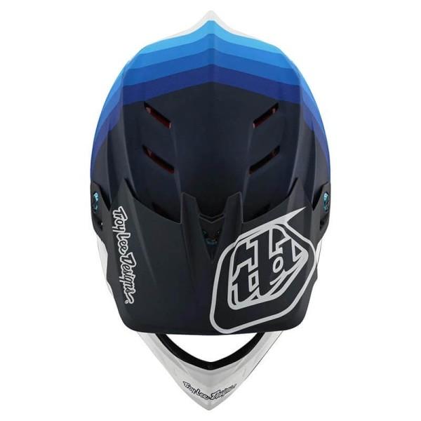 Troy Lee Designs Helm D4 Mirage blau