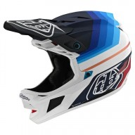 Casque Troy Lee Designs D4 Mirage bleu