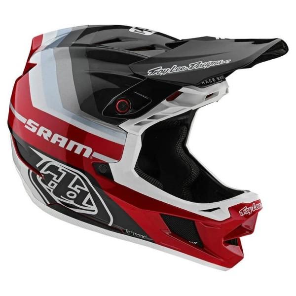 Casco MTB Troy Lee Designs D4 Mirage red