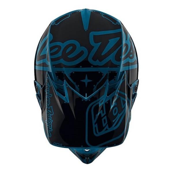 Troy Lee Designs helm SE4 Polyacrylite Factory Ocean