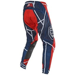 Motocross Hosen Troy Lee Designs SE Air Metric Red
