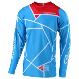 Motocross Trikot Troy Lee Designs SE Air Metric Ocean