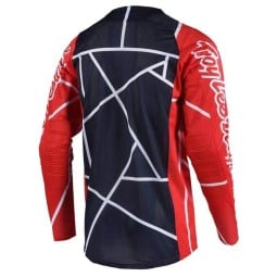 Motocross Trikot Troy Lee Designs SE Air Metric red