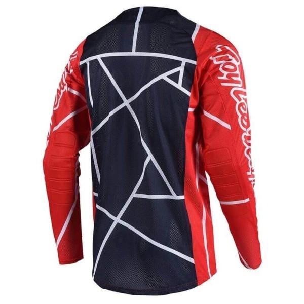 Motocross Trikot Troy Lee Designs SE Air Metric red