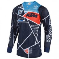 Maillot Cross Troy Lee Designs SE Air Metric navy