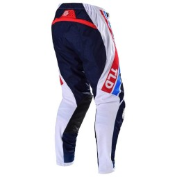 Pantaloni Motocross Troy Lee Designs SE Air Seca white