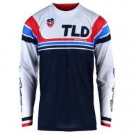 Motocross Jersey Troy Lee Designs SE Air Seca white