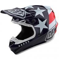Motocross Helmet Troy Lee Designs SE4 Polyacrylite Freedom