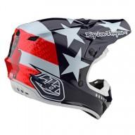 Motocross Helm Troy Lee Designs SE4 Polyacrylite Freedom