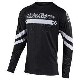 Motocross jersey Troy Lee Designs Ultra Factory black