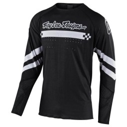 Motocross Trikot Troy Lee Designs Ultra Factory black