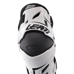 Motocross Knee Braces Leatt Dual Axis white