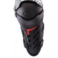 Motocross Knee Braces Leatt Dual Axis black
