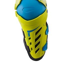 Motocross-Knieschützer Leatt Dual Axis yellow