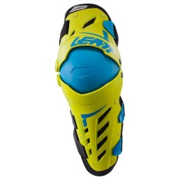 Ginocchiere motocross Leatt Dual Axis yellow