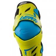 Motocross Knee Braces Leatt Dual Axis yellow