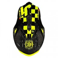 Crosshelm Just1 J12 Pro Racer Fluo Yellow Carbon