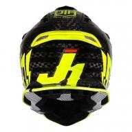 Casco de cross Just1 J12 Pro Racer Fluo Yellow Carbon