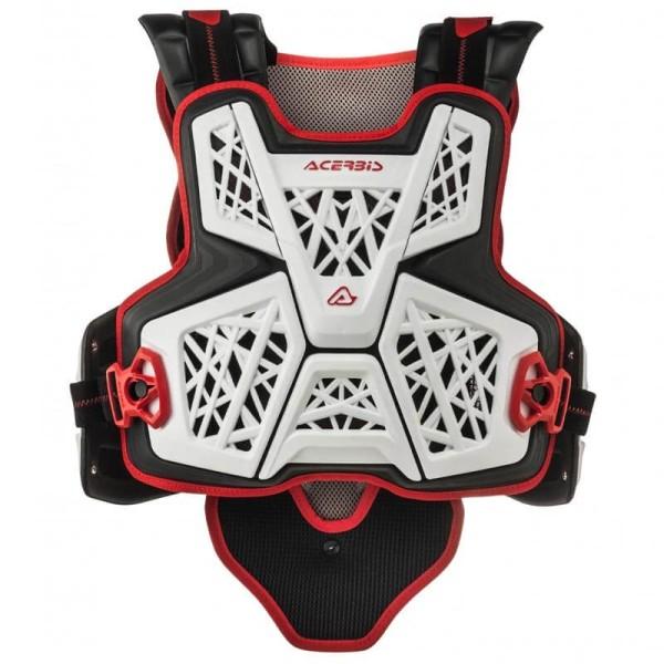 Gilet de protection Cross Acerbis MX Jump blanc