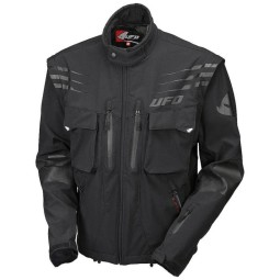Enduro jacket Ufo Plast Taiga black