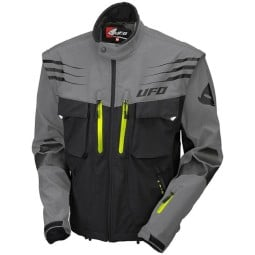 Enduro jacket Ufo Plast Taiga grey