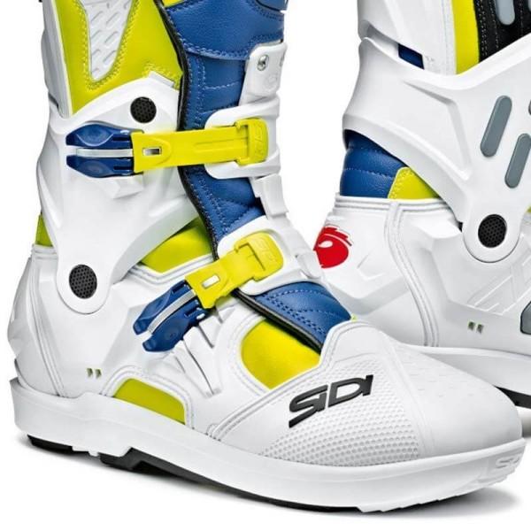 Sidi Stiefel Atojo SRS weiss blau