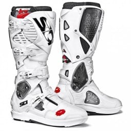 Motocross boots Sidi Crossfire 3 SRS white