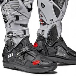 Motocross boots Sidi Crossfire 3 SRS black grey