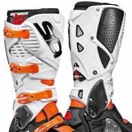 Sidi Crossfire 3 SRS motocrossstiefel orange schwarz weiß