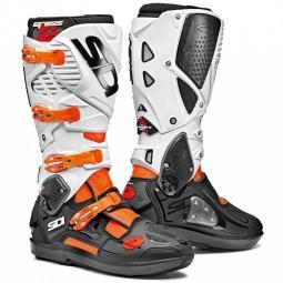 Stivali Sidi Crossfire 3 SRS arancione nero bianco