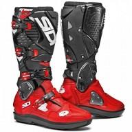 Sidi Crossfire 3 SRS motocrossstiefel rot schwarz