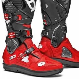 Stivali Sidi Crossfire 3 SRS rosso nero,Motocross Shop
