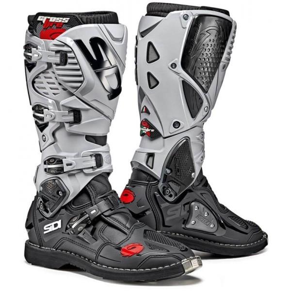Motocross boots Sidi Crossfire 3 black grey