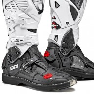 Motocross boots Sidi Crossfire 3 black white