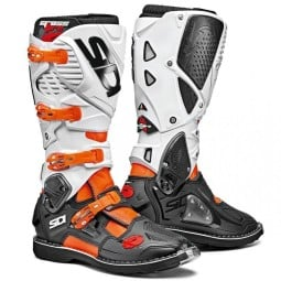 Bottes Sidi Crossfire 3 orange noir