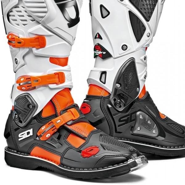 Bottes Sidi Crossfire 3 orange noir