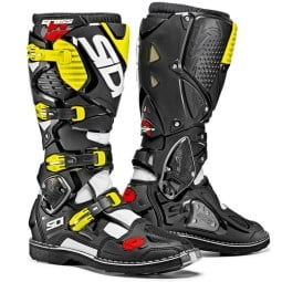 Motocross boots Sidi Crossfire 3 black yellow fluo