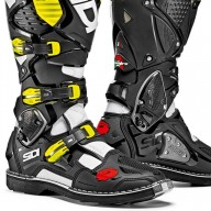 Sidi Crossfire 3 motocrossstiefel schwarz gelb fluo